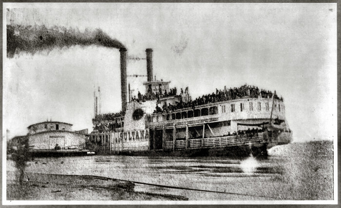 Steamboat Sultana Images